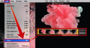 Редактирование видео встроенными средствами macOS