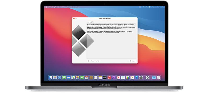 Как быстро установить Виндовс на Мак