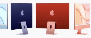дизайн iMac M1 2021
