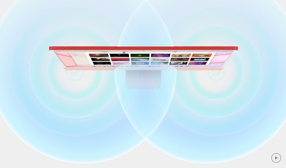 аудио iMac M1 2021