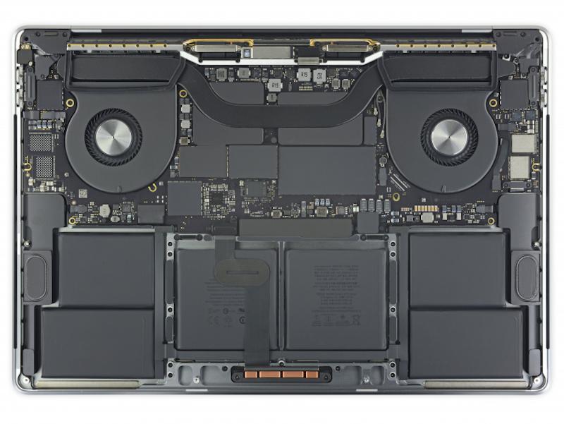 Технические характеристики MacBook Pro 16