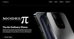 описание смартфона Tesla Pi