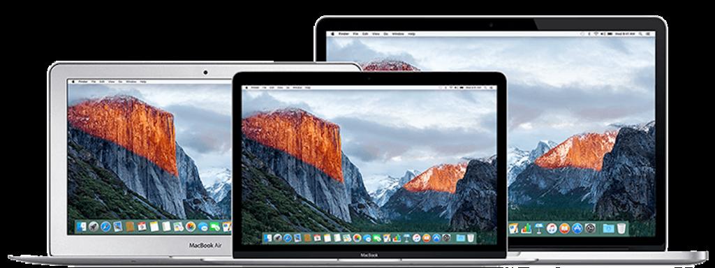 Класификация техники Apple Mac