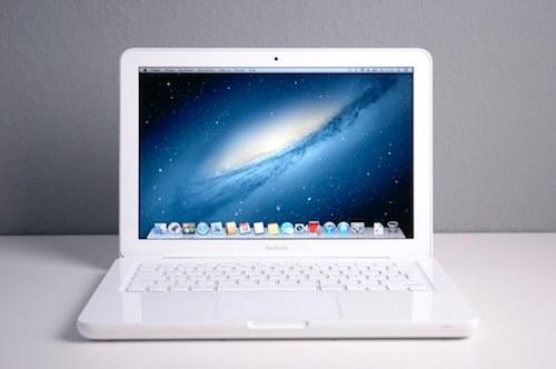 Белый Макбук 13 дюймов