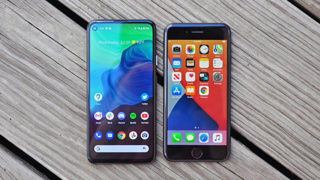 Сравнение iOS против Android