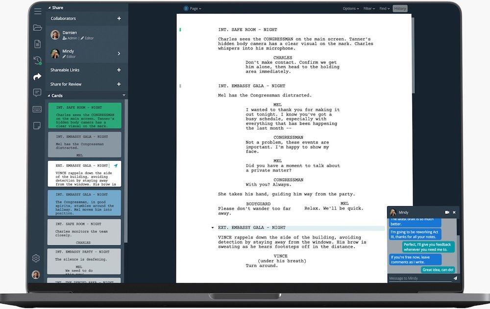 Приложения для сценаристов, разработчиков игр, планирования на Мак